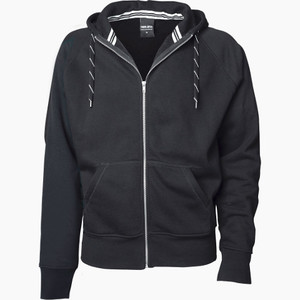 Tee Jays Men's Fashion Full Zip Hooded Sweat