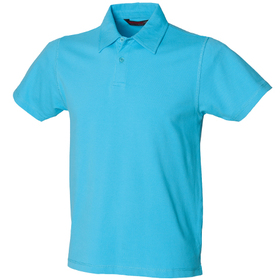 SF Men Modern Stretch Pique Polo Shirt