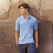 Fruit of the Loom Tipped Pique Polo Shirt